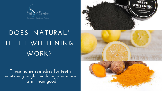 Does 'Natural' Teeth Whitening Work?