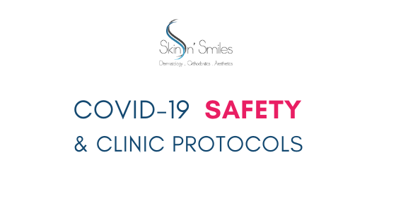 COVID-19 Safety and Protocols at Skin 'n Smiles